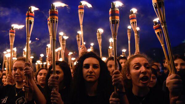 В Ереване 23 апреля пройдет традиционное факельное шествие памяти жертв Геноцида армян