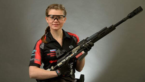Мастер спорта по практической стрельбе, член сборной России по ружью и карабину Татьяна Коробейник