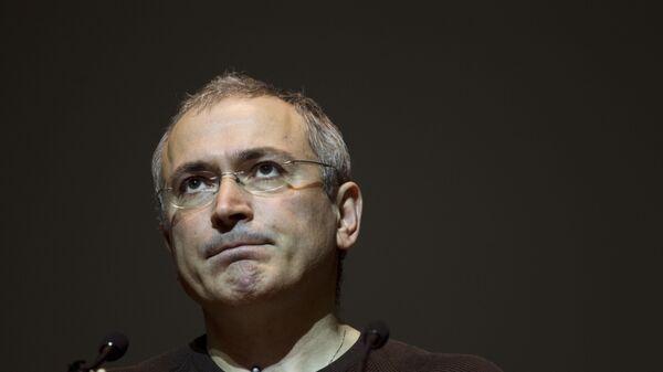 Михаил Ходорковский в Киеве, Украина. 2014 год