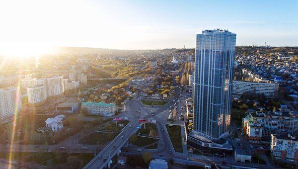 Вид на город Саратов
