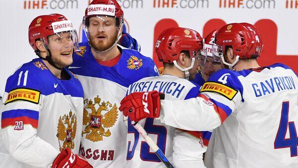 Хоккей. Чемпионат мира. Матч Италия - Россия