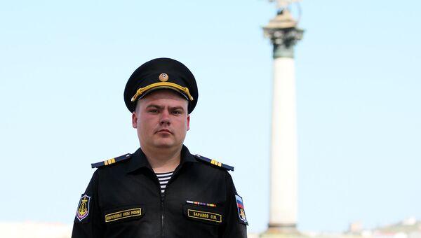Морской пехотинец из Севастополя Олег Баранов