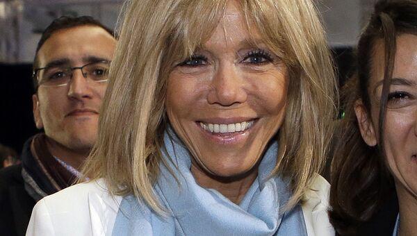 Жена нового президента Франции Эммануэля Макрона Брижит Макрон