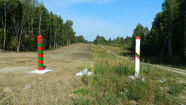 Граница России и Литвы