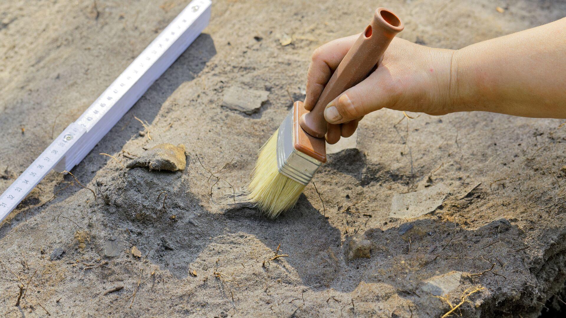 Археологи обнаружили в Хакасии нетронутый могильник скифского времени
