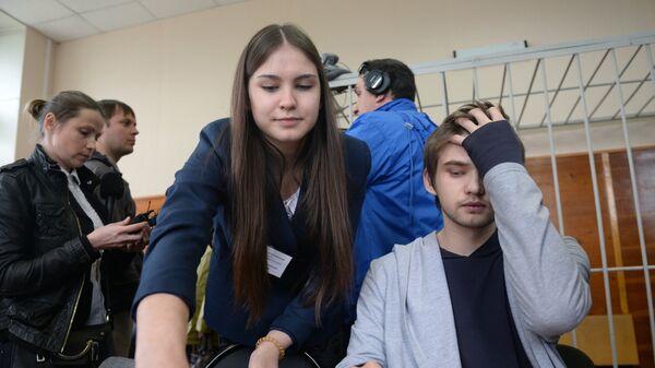Заседание суда по делу блогера Руслана Соколовского в Екатеринбурге