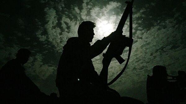 Военный в Ираке