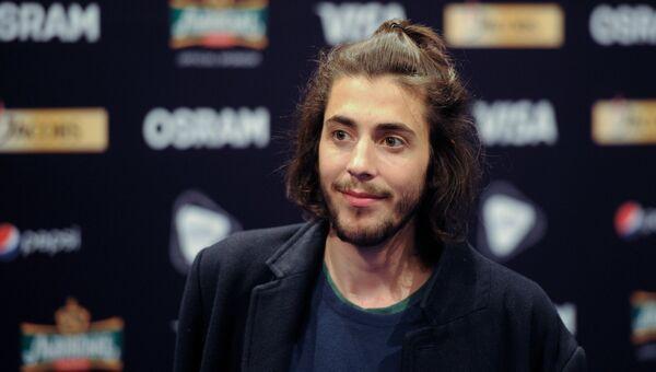Победителем конкурса Евровидение-2017 стал португалец Сальвадор Собрал. Архивное фото