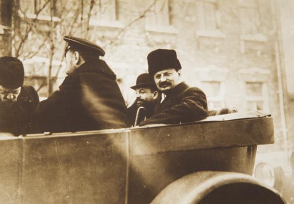 Участники мирных переговоров в Брест-Литовске