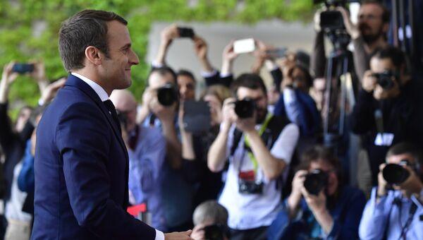Президент Франции Эммануэль Макрон. Архивное фото