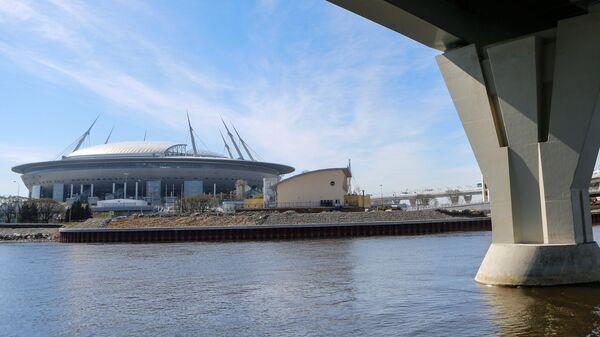 Стадион Санкт-Петербург Арена на Крестовском острове в Санкт-Петербурге