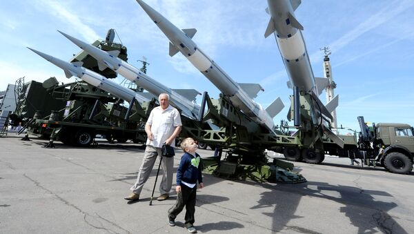 Выставка вооружения и военной техники MILEX-2011 в Минске. Архивное фото