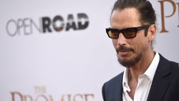 Лидер группы Soundgarden Крис Корнелл. Архив