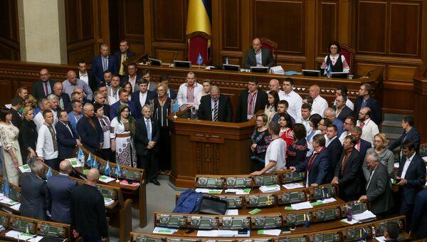 Заседание Верховной рады Украины. 18 мая 2017