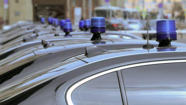 Автомобили членов правительства РФ у здания Государственной Думы РФ. Архивное фото