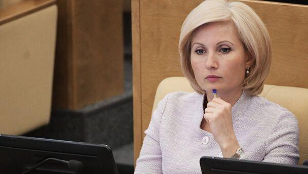 Член комитета Государственной Думы РФ по государственному строительству и законодательству Ольга Баталина. Архивное фото