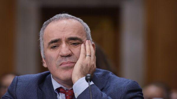 Председатель Международного Совета Фонда защиты прав человека Гарри Каспаров