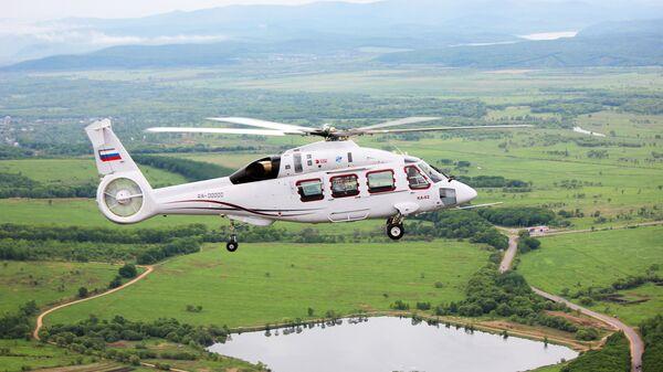 Вертолет Ка-62 совершил первый полет. Архивное фото