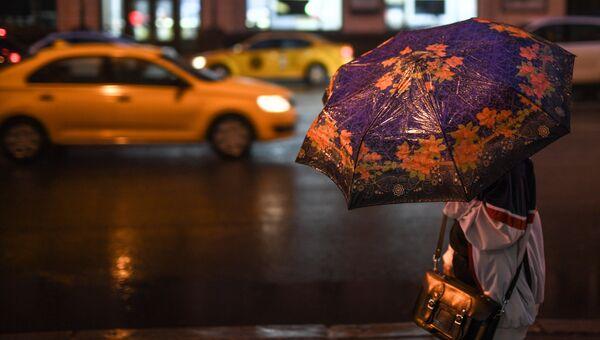 Дождь в Москве. Архивное фото