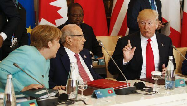 Саммит G7 в Италии, 27 мая 2017