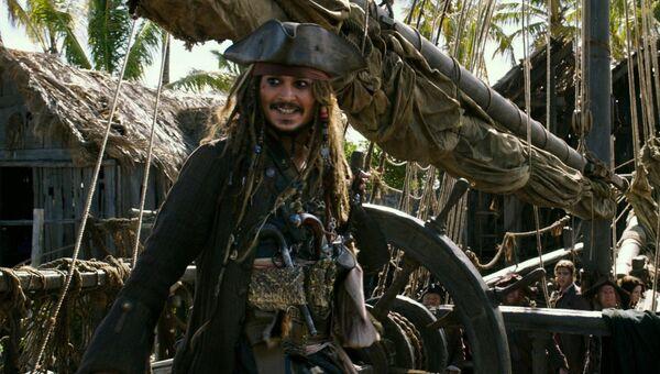 Кадр из фильма Пираты Карибского моря: Мертвецы не рассказывают сказки(2017). Архивное фото