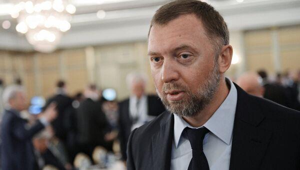 Президент, член Совета директоров ОК РУСАЛ Олег Дерипаска. Архивное фото