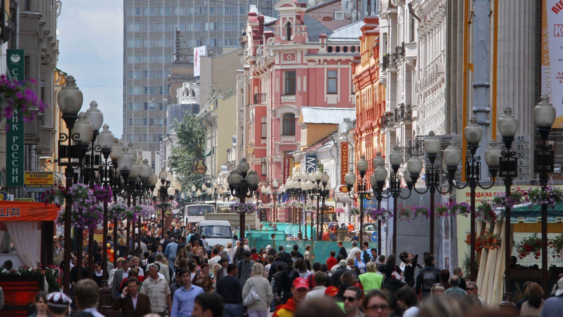 Улица Старый Арбат - РИА Новости, 1920, 30.03.2021