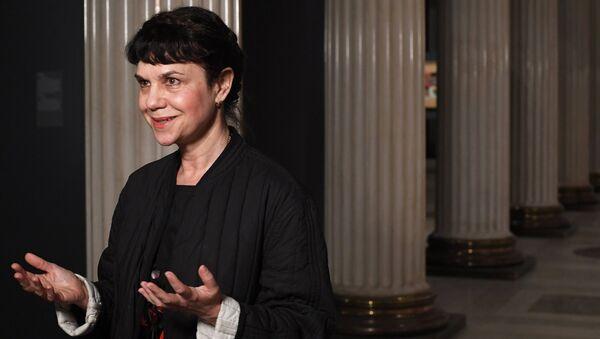 Директор Государственного музея изобразительных искусств имени А.С. Пушкина Марина Лошак. Архивное фото