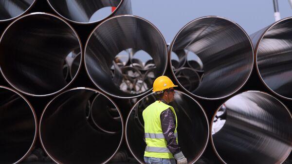 Строительство Трансадриатического газопровода в Албании. Архивное фото