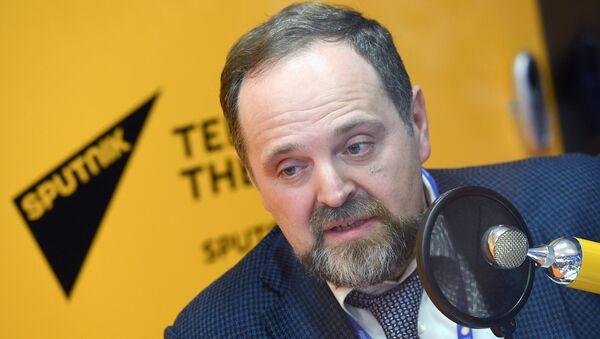 Министр природных ресурсов и экологии РФ Сергей Донской на Санкт-Петербургском международном экономическом форуме 2017. 1 июня 2017