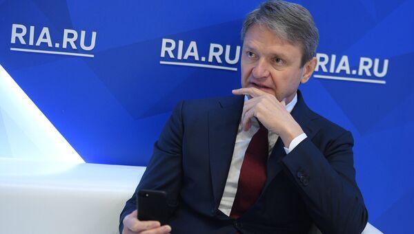 Министр сельского хозяйства РФ Александр Ткачев на Санкт-Петербургском международном экономическом форуме 2017