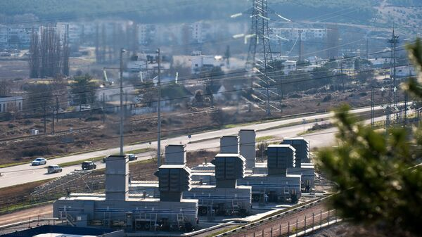 Энергетические объекты Крыма. Архивное фото