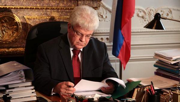 Постоянный представитель России при ЕС Владимир Чижов. Архивное фото
