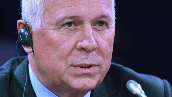 Генеральный директор государственной корпорации Ростех Сергей Чемезов на Санкт-Петербургском международном экономическом форуме 2017