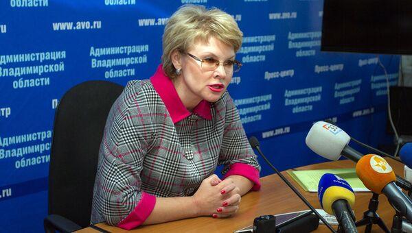 Вице-губернатор Владимирской области Елена Мазанько. Архивное фото