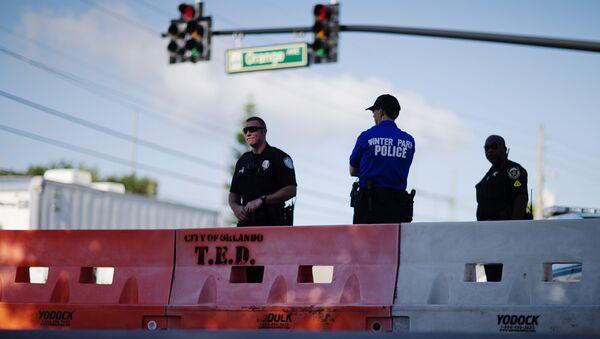 Полицейские в Орландо, США. Архивное фото