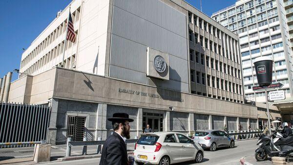 Посольство США в Тель-Авиве. Архивное фото