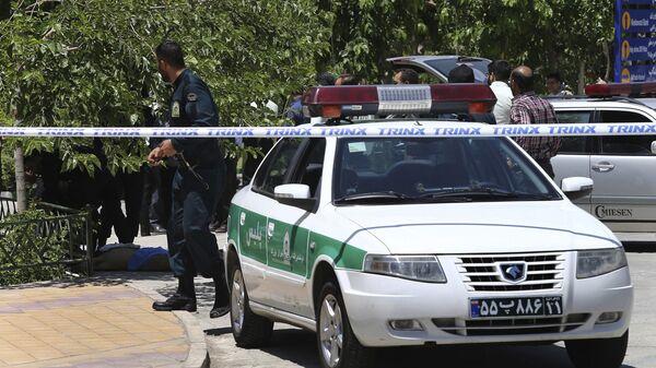 Иранский полицейский