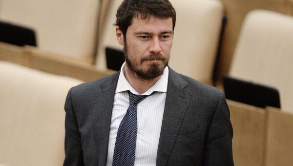 Марат Сафин на пленарном заседании Государственной Думы РФ. Архивное фото