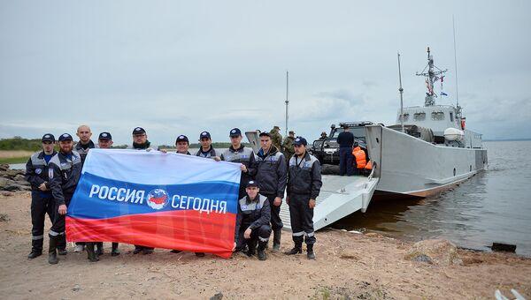 Участники комплексной экспедиции РГО Гогланд-2017