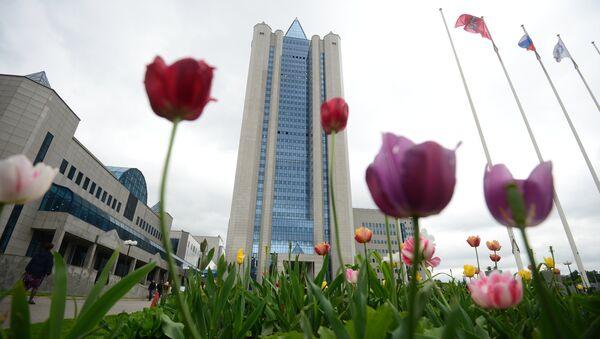 Офис ОАО Газпром в Москве