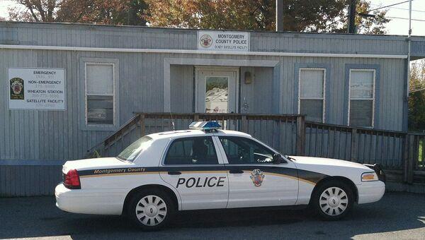 Автомобиль полиции в штате Мэриленд, США. Архивное фото