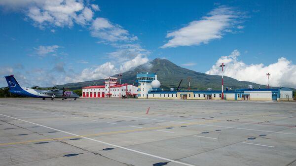 Аэропорт на южно-курильском острове Итуруп