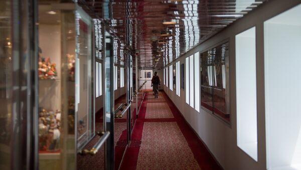 Палуба круизного лайнера Князь Владимир