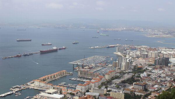 Вид Гибралтара. Архивное фото