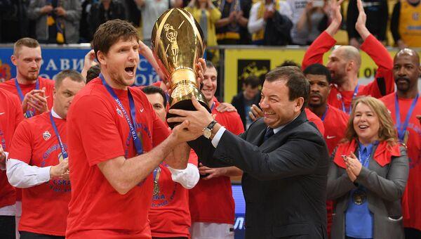 БК ЦСКА стал победителям Единой лиги ВТБ и чемпионата России сезона-2016/17