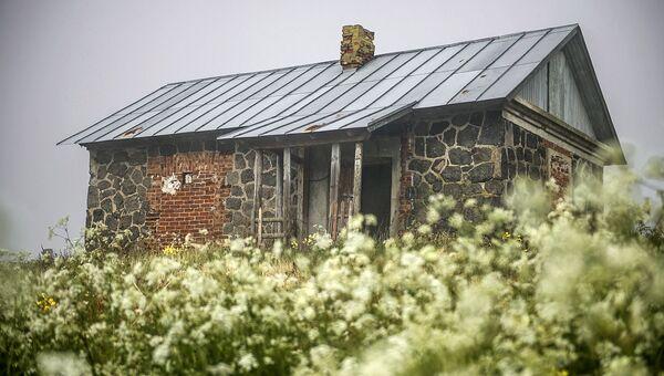 Оставленный финнами дом, остров Соммерс