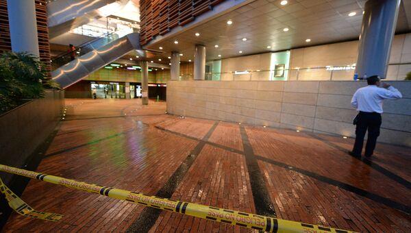 Взрыв в торговом центре Centro Andino в Боготе. 18.06.2017