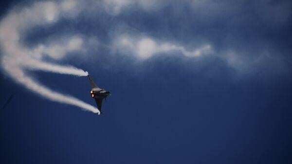 Французский многоцелевой истребитель четвёртого поколения Rafale