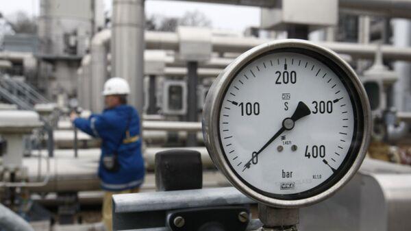 Газовое хранилище в Редене, Германия. Архивное фото